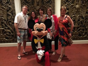 Board members and Mickey